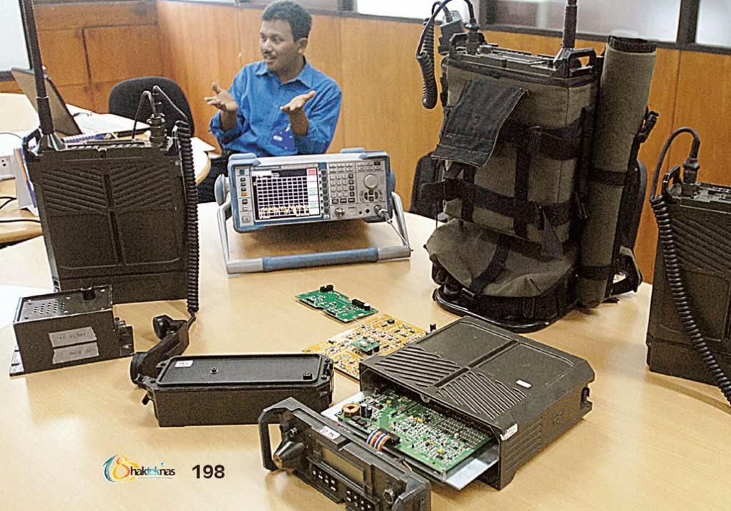 Manpack Alkom FISCOR-100 Alat Komunikasi Anti Sadap dan Anti Jamming Buatan PT LEN