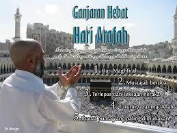 Ganjaran di Hari Arafah