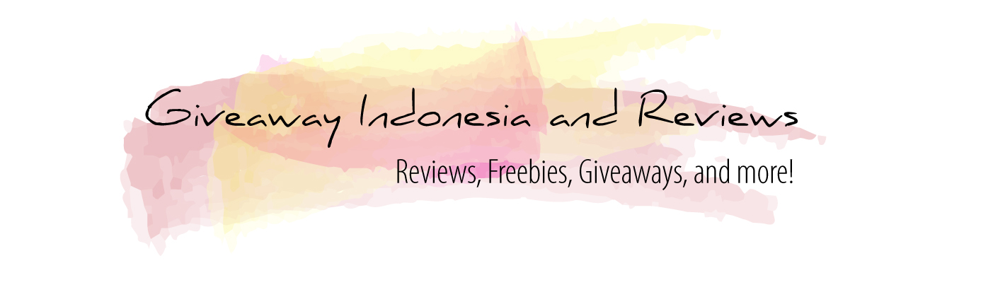 Giveaway Indonesia and Reviews