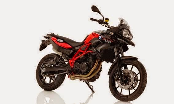 BMW F 700 GS Black Storm Metallic/Racing red