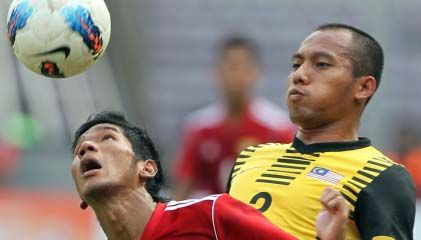 Harimau muda vs myanmar celebrity