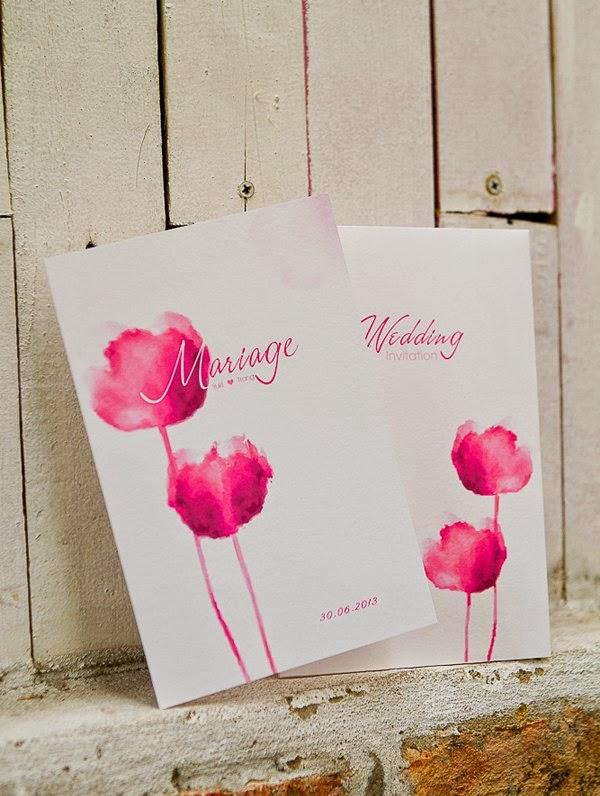 Thiệp cưới đẹp với phong cách Vintage nhẹ nhàng 2