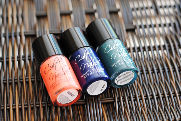 Cult Nails, nail polish review and swatches, Cult Nails Scandalous, Cult Nails Time Traveler, Cult Nails Awakening, nail lacquer