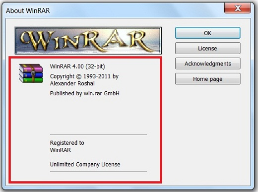 winrar for pc free download 32 bit