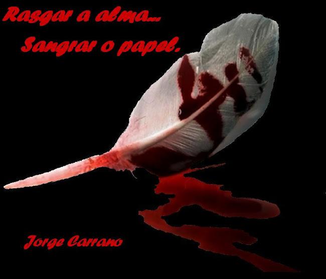 Rasgar a alma  Sangrar o papel