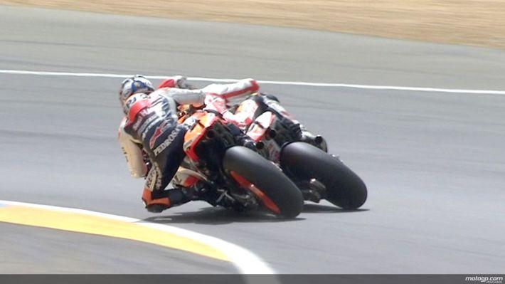MotoGP Prancis 2011 : Pedrosa vs Simoncelli title=