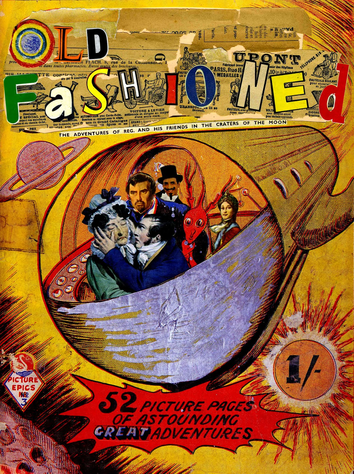 Old Fashioned Book Cover : Old fashioned comic book cover