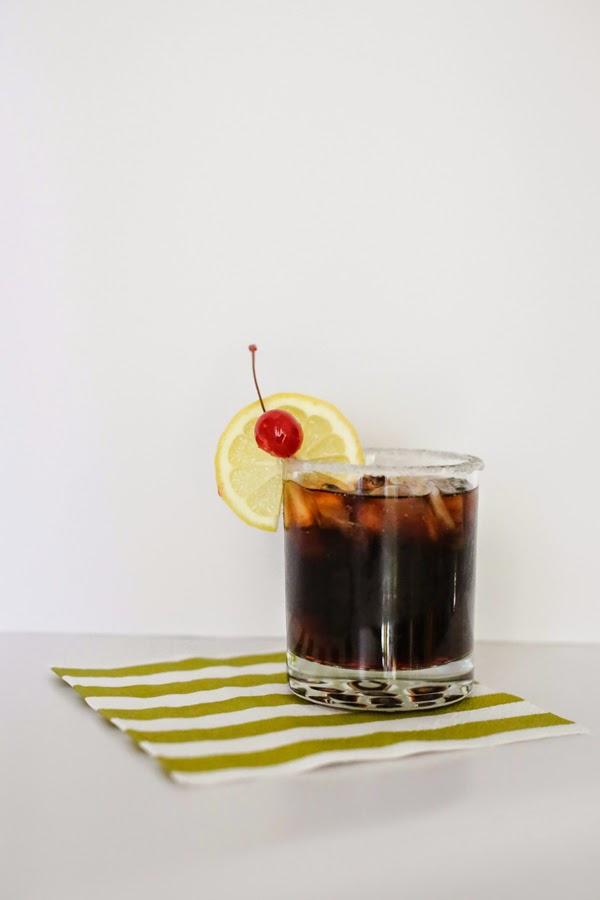 Roy Rogers Mocktail Recipe #virgin