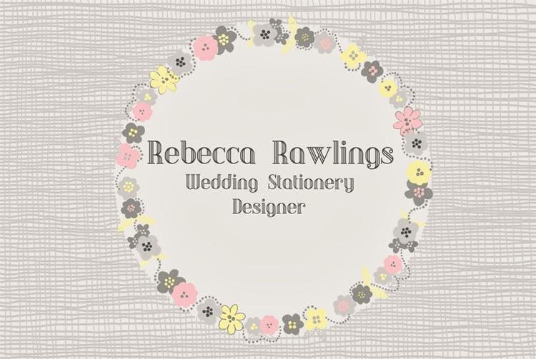 Rebecca Rawlings Wedding Stationery Design