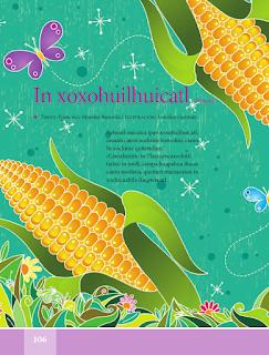 In xoxohuilhuicatl / El cielo azul - Español Lecturas 5to 2014-2015