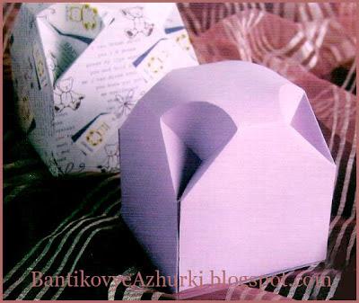 Подарочная упаковка со скошенными углами