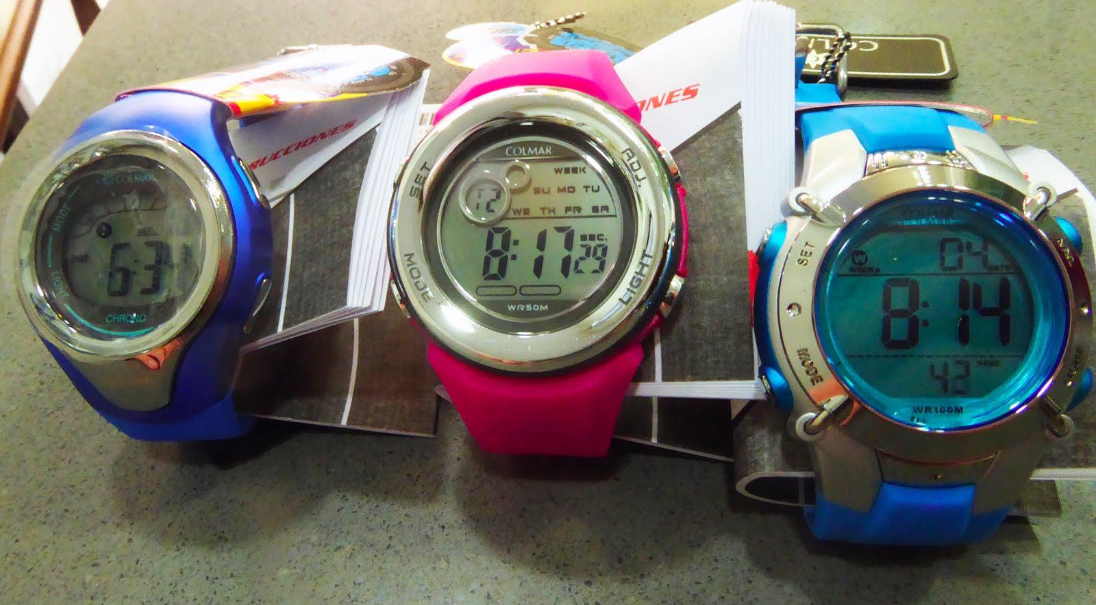 Relojes Digitales Colmar