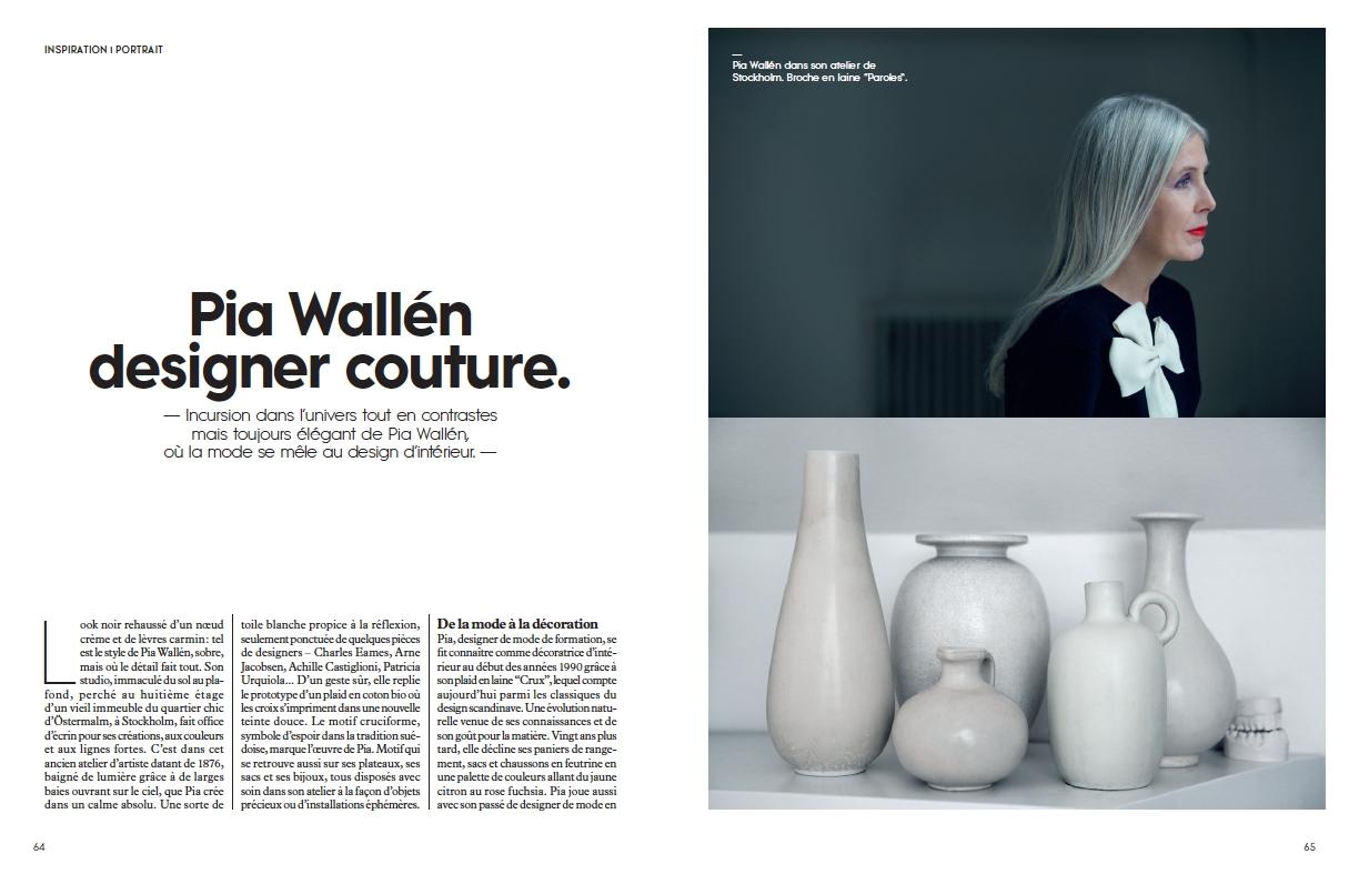 Pia Wallén in Milk Decoration
