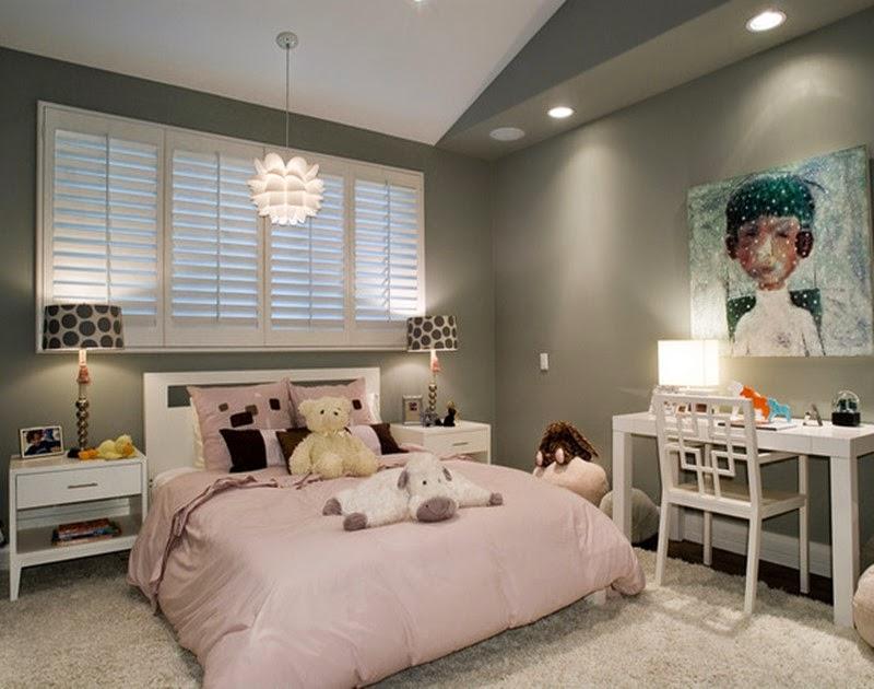 Desain kamar anak remaja tema teddy bear