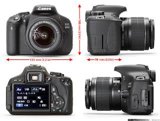 CANON EOS 600D Daftar Harga Kamera DSLR Canon Januari 2013