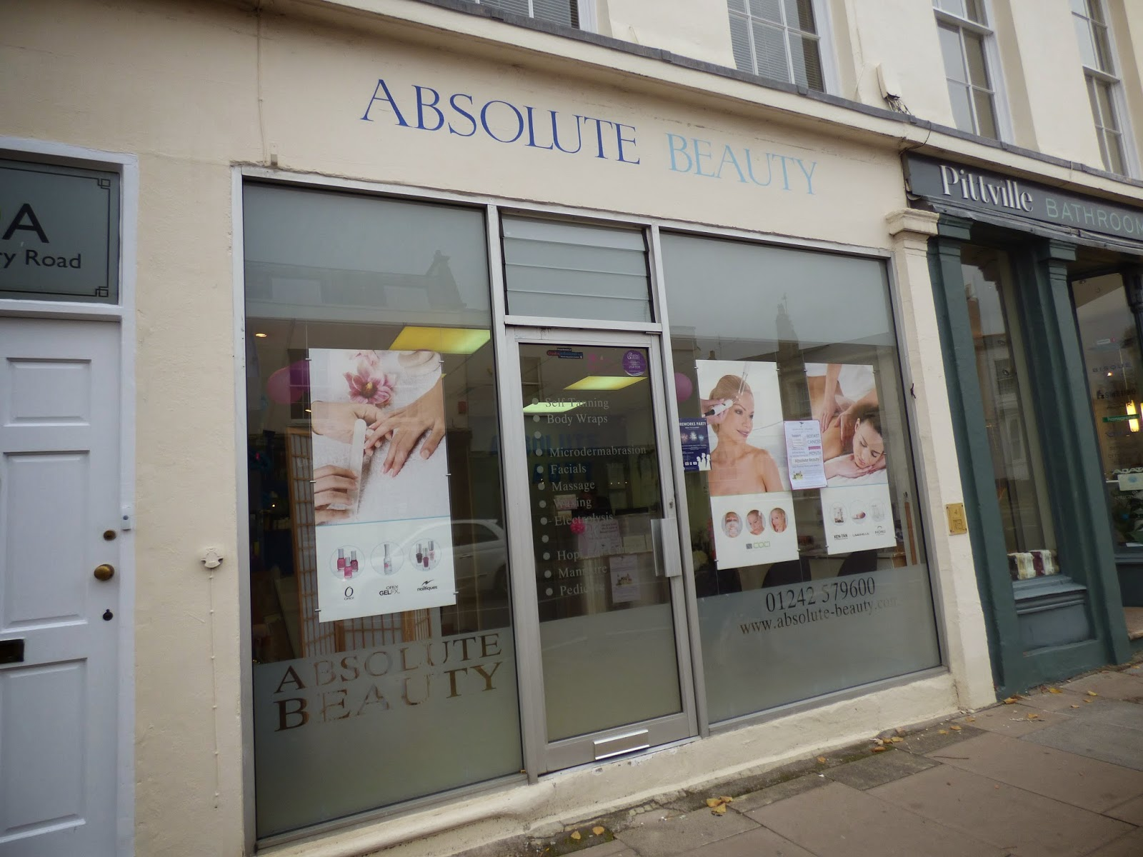 Jelly rose absolute beauty salon in cheltenham review for Absolute beauty salon
