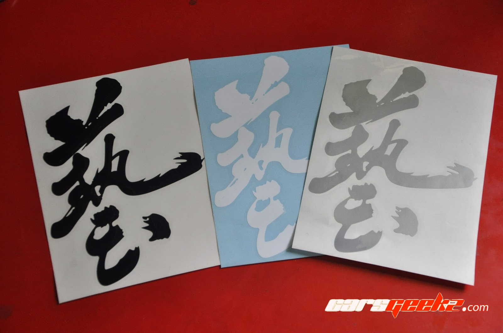 JS Racing Japan - Waza Sticker