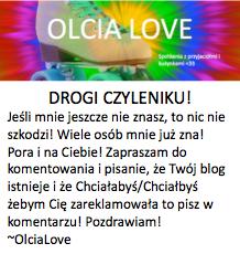 Hejka jestem Ola!