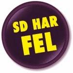 SD HAR FEL!