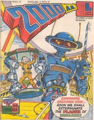 2000 AD #37, November 1977