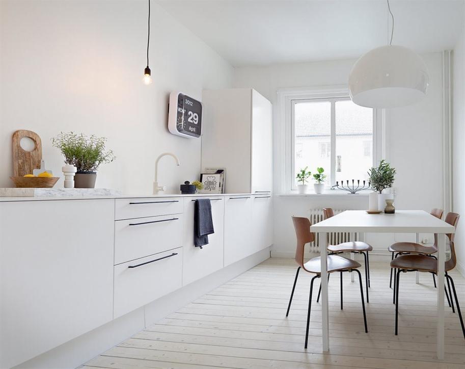 Cocinas Sin Muebles Arriba - Diseños Arquitectónicos - Mimasku.com