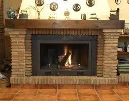 Fotos y dise os de chimeneas como revestir una chimenea - Revestimientos de chimeneas rusticas ...