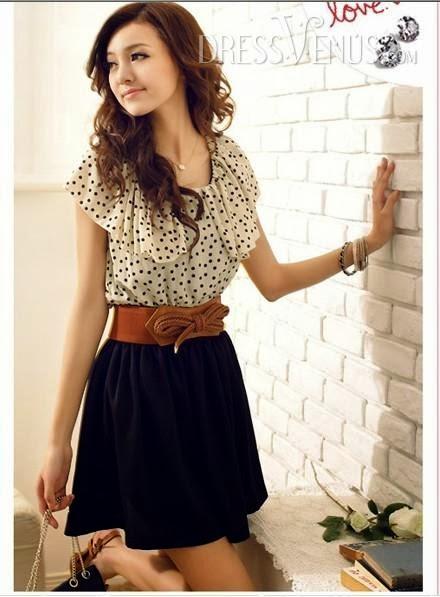 Beautiful Polka Dots Dress