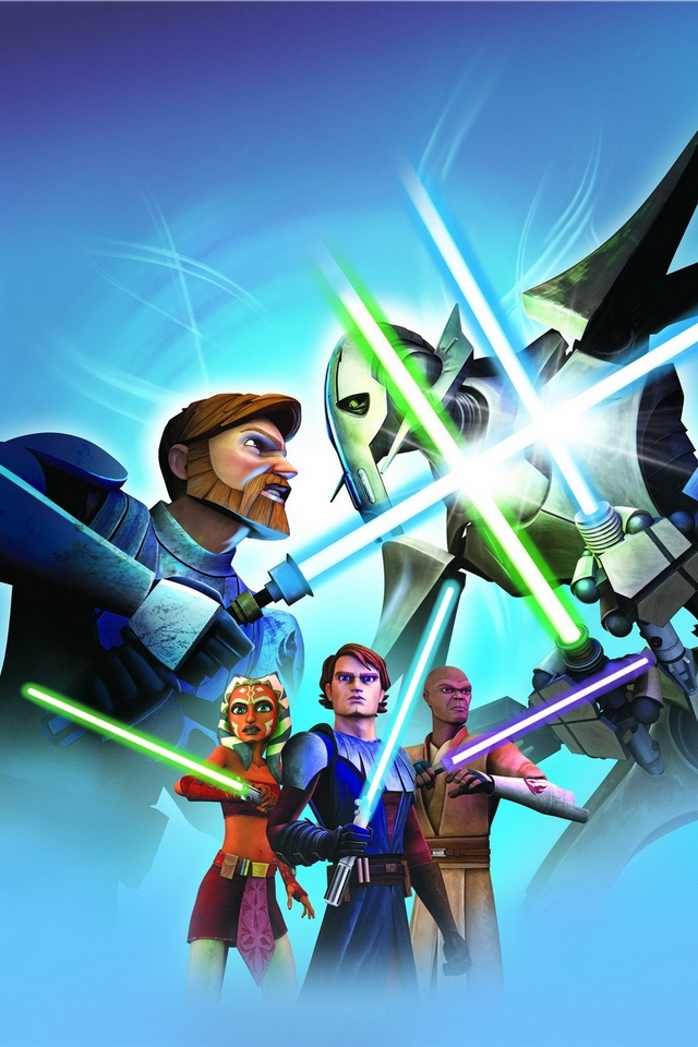 Star Wars The Clone Wars Download Iphone Ipod Touch Android Wallpapers Backgrounds Themes