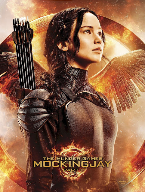 Hunger Games Mockingjay Part 01 Movie Poster