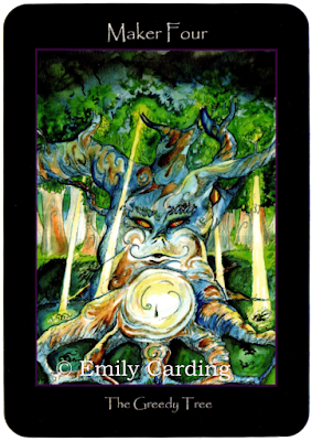 Tarot of the Sidhe, Maker Four, Emily Carding
