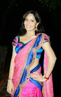 Anchor-anasuya-half-saree-Kevvu-keka-audio-launch