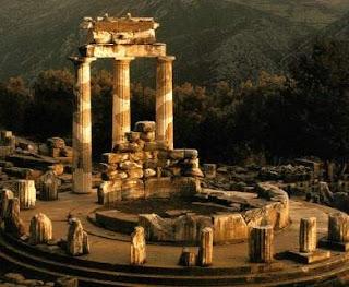 Ciudades de la antigua grecia delfos Casas griegas antiguas