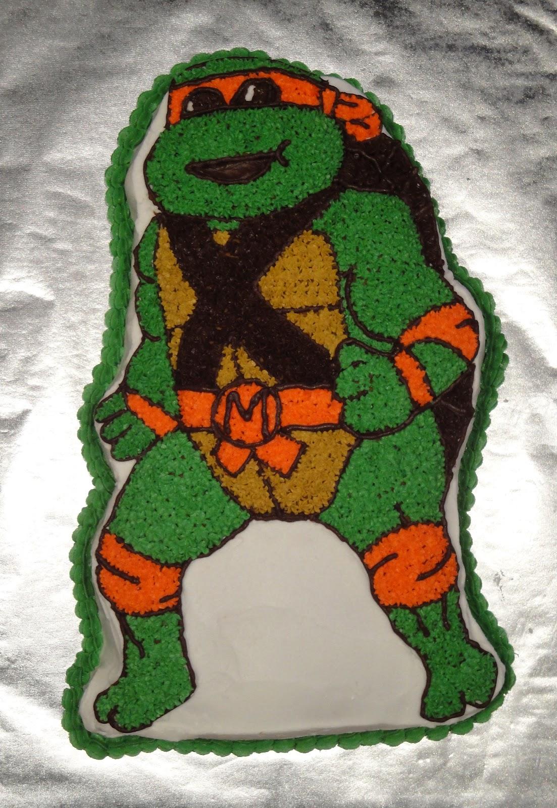 Teenage Mutant Ninja Turtle Birthday Cake Pan