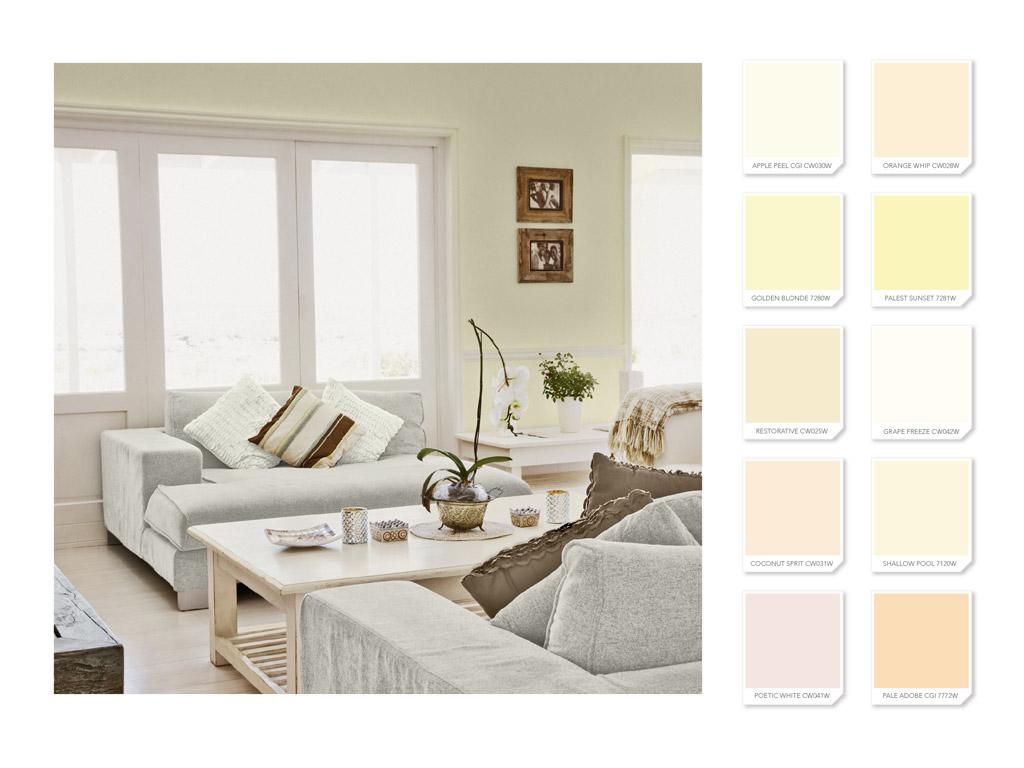 Da elegancia a tus espacios con tonalidades crema azdeco - Pintura pared colores ...