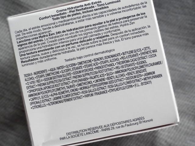 Lancome Hydra Zen Anti Stress Moisturizing Cream