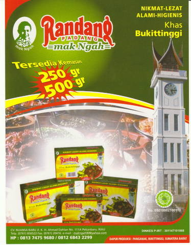 RANDANG MAK NGAH khas bukittinggi