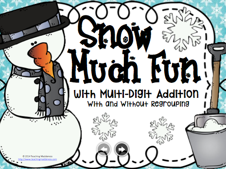 https://www.teacherspayteachers.com/Product/Snow-Much-Fun-Mutli-Digit-Addition-2279388