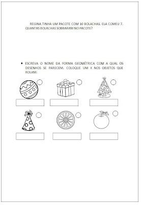 Sondagem Matemática - Atividades Matemática 2
