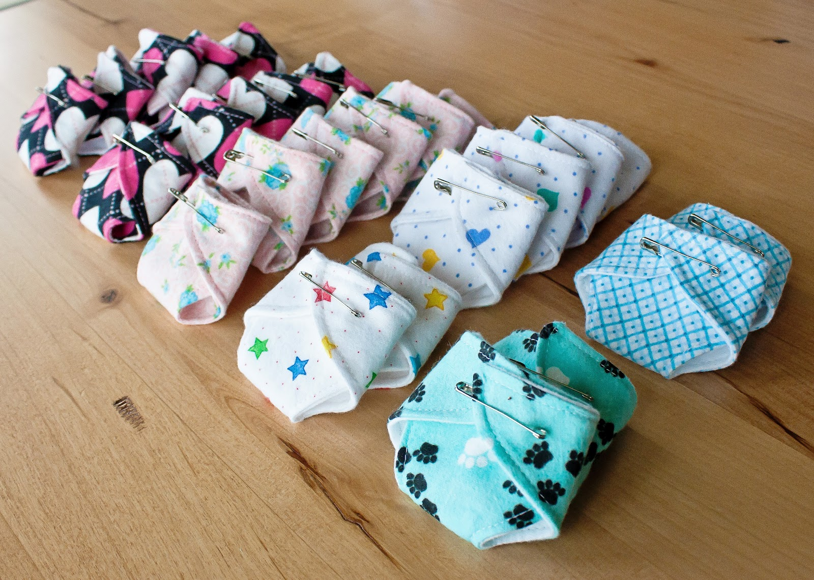 bitties that were sewn together by Sveta, one of our SLC Diaper Divas