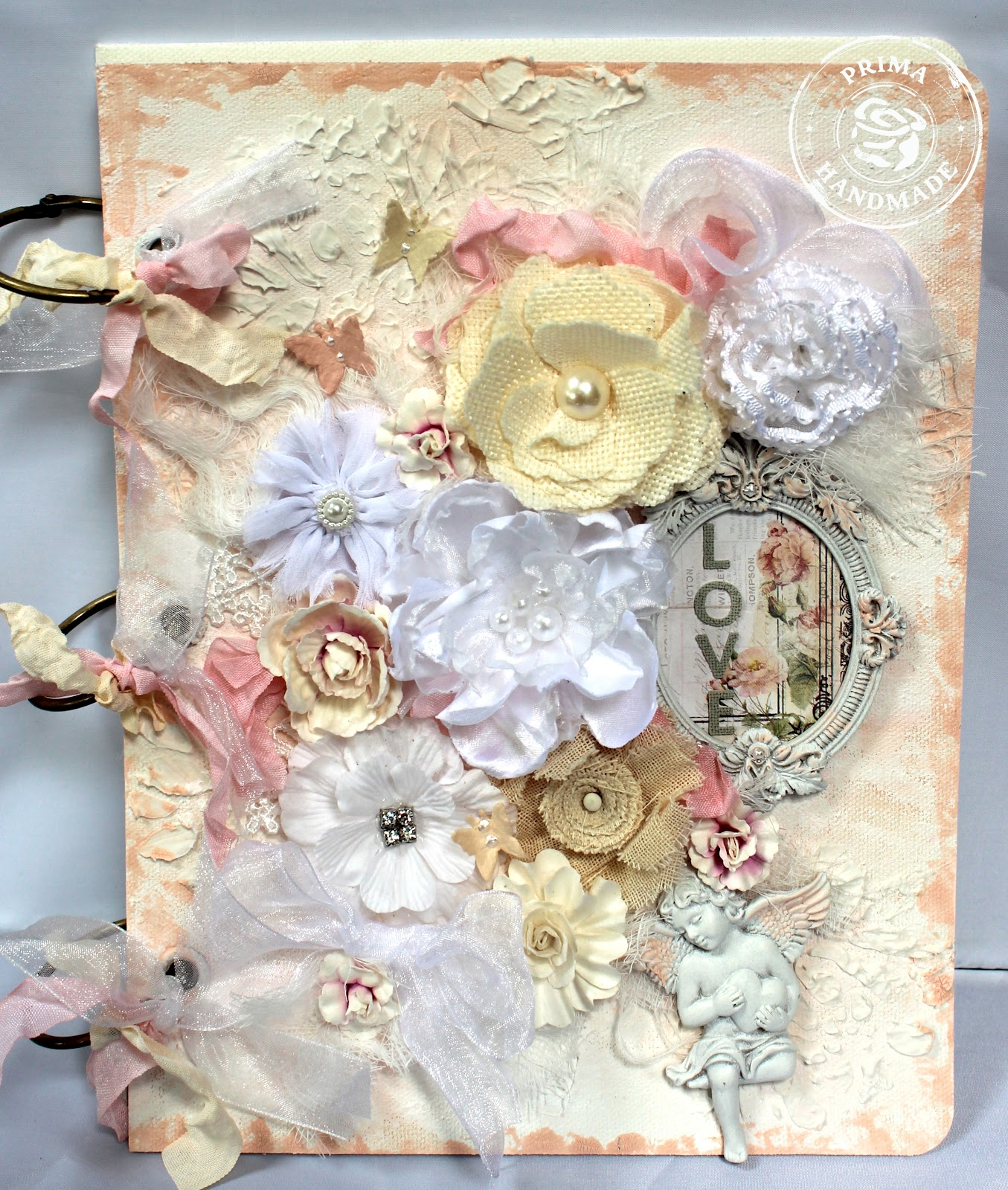 ShabbyChicJCouture : Prima Shabby Chic Mixed Media Album
