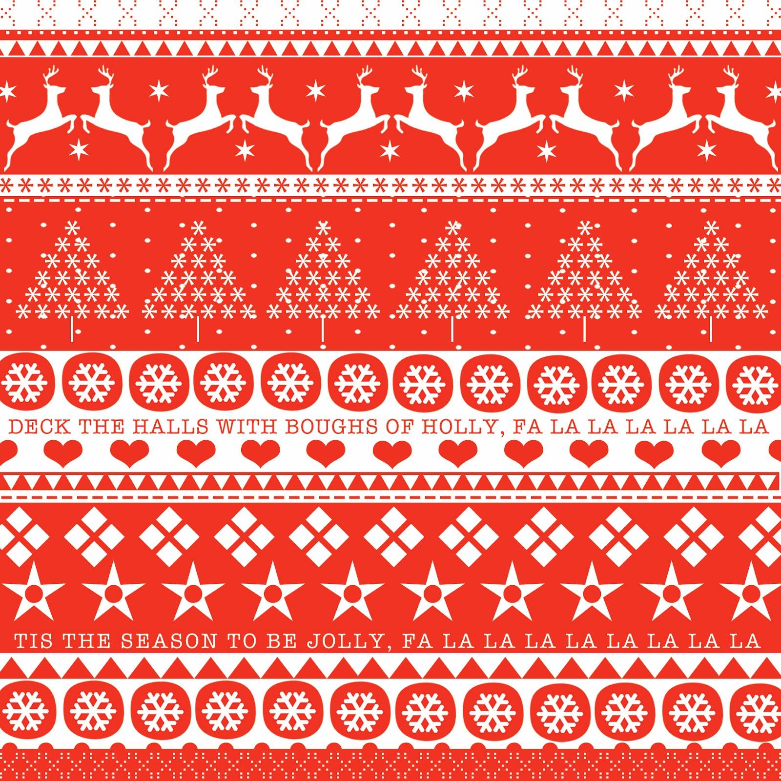 Christmas Jumper Pattern   169 Vintage Christmas Pattern
