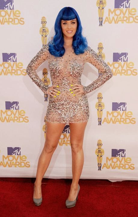 Gaun Transparan Katy Perry