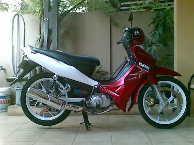 Modifikasi Yamaha Jupiter Z Gaul Anak Muda [ www.BlogApaAja.com ]