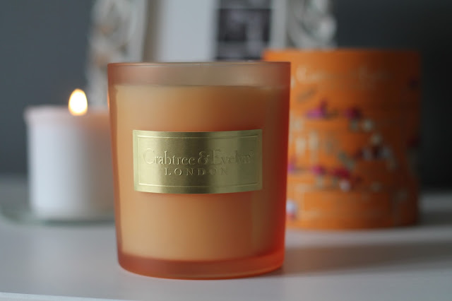 Crabtree & Evelyn - Sugar and Spice Large Poured Candle Review