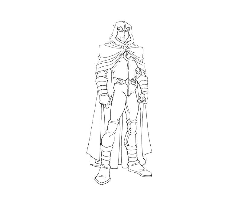 printable moon knight moon knight funny_coloring pages 2 - Knight Coloring Pages 2