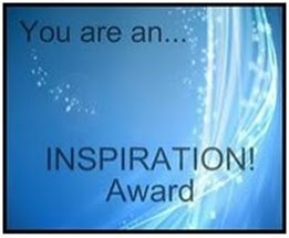 You are an... INSPIRATION! Award