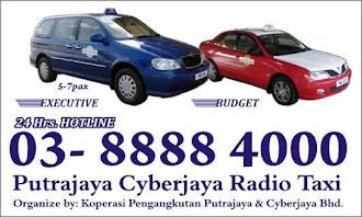 Putrajaya Cyberjaya Taxi