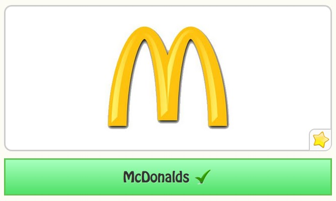 The Logo Game Facebook Answers Bonus Pack Fast Food 1