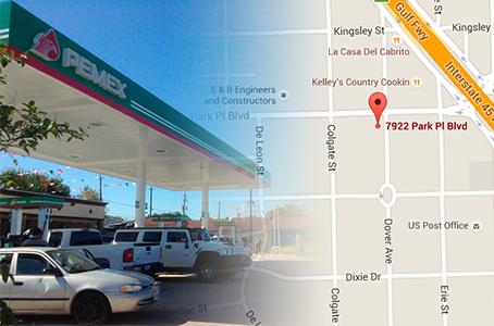 Pemex vende a 7 pesos el litro de gasolina en Estados Unidos