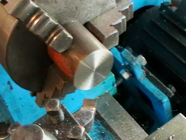 facing collet thread receiver